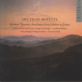 Motette: German Romantic Choral Music from Schubert to Strauss